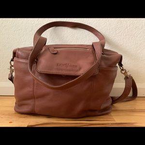 Lily Jade brandy Madeline diaper bag EUC